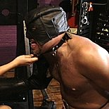 Gimp abuse2  pandora humiliates and punishes her slavegimp. Pandora humiliates and punishes her slave-gimp