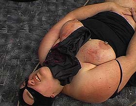 Fatty tortured0  fetishnetwork com  bbw gets her large round titties manhandled and torment. FetishNetwork.com - BBW gets her heavy round titties manhandled and molested