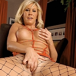Pleasant blonde anna0  fetishnetwork com  sultry model anna fingers herself in fishnets. FetishNetwork.com - Sultry model Anna fingers herself in fishnets