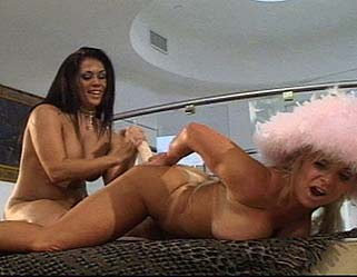 Curvy lesbian slave2  fetishnetwork com  this brunette mistress seems to know how to please herself with a curvy blonde slave. FetishNetwork.com - This brunette mistress seems to know how to please herself with a busty blonde slave