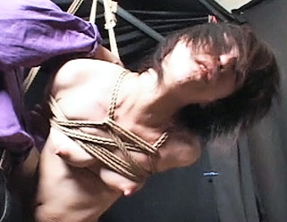Shibari suspension1  fetishnetwork com  capture japanese slave girl is suspended shibari style. FetishNetwork.com - Capture Japanese Slave girl is suspended Shibari style