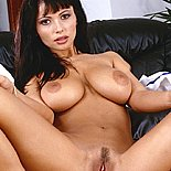 Spread cunt1  exotic busty brunette shows off her pink cunt. Exotic curvy Brunette shows off her pink pussy