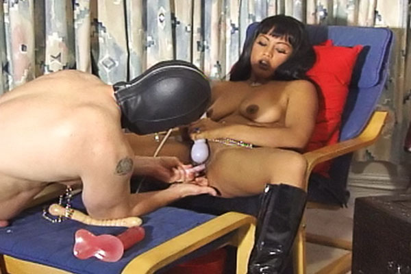 Maxine x enjoys humiliation0  fetishnetwork com  maxine x turns herself on and allows her masked slave to drink her pussy juice. FetishNetwork.com - Maxine X turns herself on and allows her masked slave to drink her pussy juice