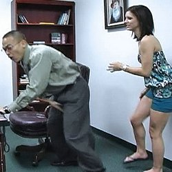 Ballbusting discipline0  isabella amour punishes a slacking working with devastating groin kicks. Isabella Amour punishes a slacking working with devastating groin kicks