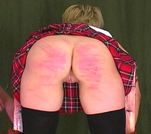 School of pain. Lara is in todays caning video, with the headmasters leading the punishment.  She was found smoking in the girls bathroom, and her streak of rebellion had to end.  They then knew corporal punishment was the only way to teach a slut of this magnitude, and
