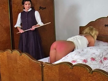 Waking kelly1  the headmistress is tired of kellys lazy ways and wakes her up with a few spanks with her cane   the headmistress orders kelly on all fours lifts up her nightgown and uses her cane to turn kellys butthole a charming shade of pink   kelly cr. The headmistress is tired of Kellys lazy ways and wakes her up with a few spanks with her cane.  The headmistress orders Kelly on all fours, lifts up her nightgown and uses her cane to turn Kellys anal a lovely shade of pink.  Kelly cries out in a mix o