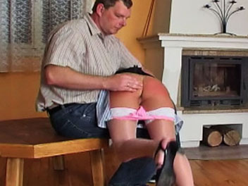 Spanking the maid  valerie gets pulled away from her maid duties and given a stern atk spanking in this hot ass film  after a few inviting swats the headmaster lifts up her skirt pulls down her panties and uses his firm hand to turn her behind a good shad. Valerie gets pulled away from her maid duties and given a stern ATK spanking in this hot butt film. After a few sweet swats, the headmaster lifts up her skirt, pulls down her panties and uses his firm hand to turn her behind a pleasant shade of pink.  Once th