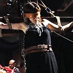 Bondage crucifixion. A Japanese bondage slut is suspended on the cross and subjected to kinky humiliations