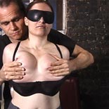 Extreme titty torture0  master rick unleashes punishment on these tender titties. Master Rick unleashes punishment on these tender titties