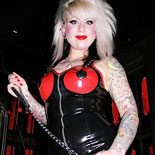 Submit to femdom lola0. Wild Punk Rocker shocks and abuses her pathetic Man Slave