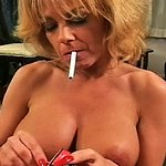 Libidinous smoker on her knees    sammy performs smoking hot felatio on her lover.  Sammy performs smoking hot felatio on her lover