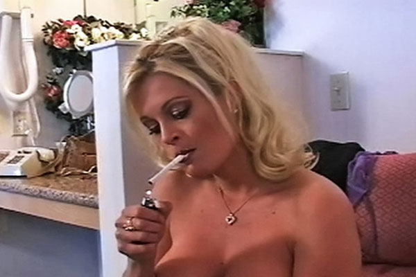 Graceful smoking blonde brooke0   brooke has an mba in seductive smoking.  Brooke has an MBA in seductive smoking