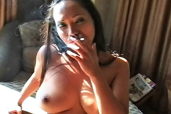 Sexy smokers striptease0   loni strips down and plays with her tits as a cloud of smoke covers her body. Loni strips down and plays with her breasts as a cloud of smoke covers her anatomy