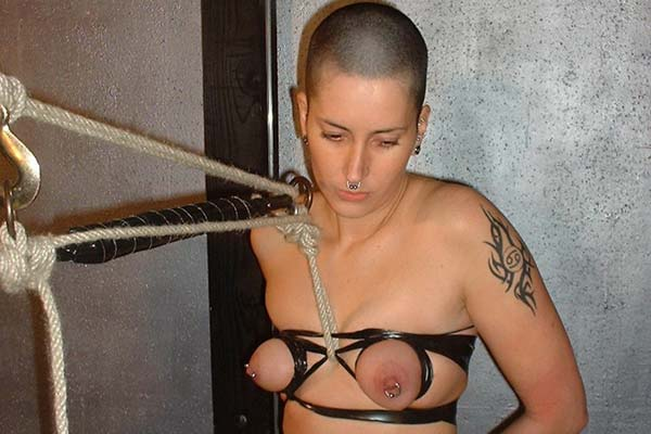 Fun with nipple tassels0. I really love placing nipple tassels on my slaves nipples as part of her tit molested session.