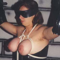Clothes pin torture0. I just love placing clothes pins on my slaves voluminous bound bosoms and watching her squirm.