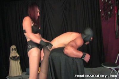 Ride him cowgirl. Am Amazon mistress rides her slave's face, then fucks his butthole with a great black dildo