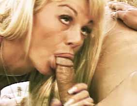 Nude beach fuck0  kat kleevage expertly sucks his voluminous cock and then rides him to orgasm. Kat Kleevage expertly sucks his big penish and then rides him to orgasm