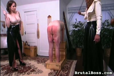 Whipped till he bleeds. Richard is caned, paddled, slap with a hairbrush, and whipped...until he bleeds