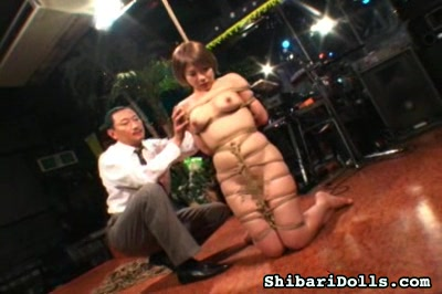 Busty bound japanese0. A sweet large titted babe gets bound and scalded by her demented captor