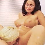 Milf lesbians0  pair of appealing milfs share a bath together and suc each others engorged vagina lips. Pair of pleasant MILFs share a bath together and blowjob each others engorged cunt lips