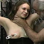 Inside joleenjoleen learns to submit after being tit molest and bound.
