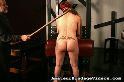 Abused milfbig titted milf gets her whole body beaten and molest by master len.