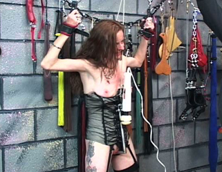 Master lens molest chamber. Master Len wrecks and ravages his slaves nipples as punishment for her naughty ways