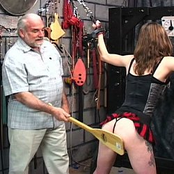 Nipples and blood0  master len uses hooks to wreck and ravage his naughty slaves natural tits. Master Len uses hooks to wreck and ravage his naughty slaves tits.