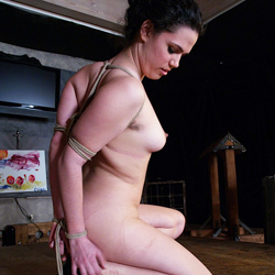 Zaylas painful crotch tie0. Zayla is tormented while in her painful Crotch Rope tie