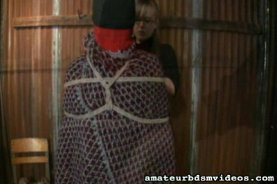 Wooly mummy0. Twisted Domme Angel wraps her slave in hot sweaters to torment her and make love with her head