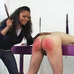 A proper spanking2  considerable over the knee spanking. Big over the knee spanking