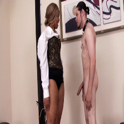 Employee evaluation2. The Secretary has her revenge and spanks and humiliates her boss