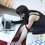 Japanese girls watch bondage porn0  lascivious japanese girls steal looks at bondage porn on their computer. Excited Japanese girls steal looks at Bondage porn on their computer