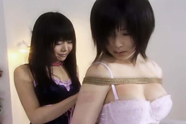 Nice in pink14. Yachi forces Yami to strip down to her pink underwear and touch herself over her panties