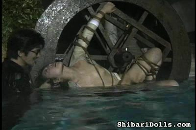 Violated housewife4. Strung up, she is violated while she screams. Then she is submerged in water in danger of drowning