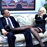 Hot blonde maid1. Hot French maid takes time out to grind her kitty on her employers face