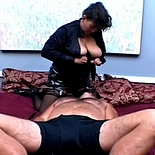 Plumper doubleshot0. Mature plumper drops her giant asscheeks across his head