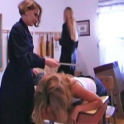 The female disciplinary manual 1  the boss and claudia tag team a brat for a domestic discipline scene. The Boss and Claudia tag team a brat for a domestic discipline scene