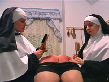 Smoking nuns2  a young hoodlum is discovered smoking in the schoolroom by sister morgana. A young hoodlum is discovered smoking in the schoolroom by Sister Morgana.