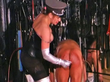 Bullwhipped bastard3. Irene invites her friend over to witness and partake in a bullwhipping/corporal discipline session