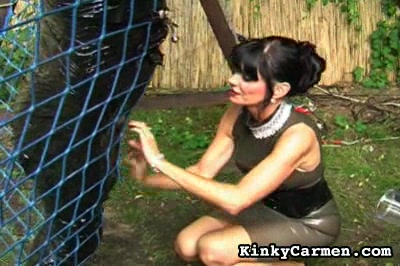 How to anguished a cock0  dominatrix carmen is an expert at cockanguished as she shows here with the help of another woman  two anguishedrs are better than one. Mistress Carmen is an expert at cock-torture as she shows here with the help of another woman. Two torturers are better than one!