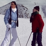 Carmen and her blond friend  carmen and her blond friend are out for some fun on the ski slopes when carmen is knocked over by a careless stud. Carmen and her blond friend are out for some fun on the ski slopes when Carmen is knocked over by a careless stud.