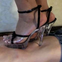 To serve women 2. Bare feet and stiletto heels do a pleasant job of trampling