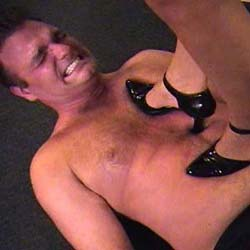 Footslave prophecies 2  2. A lot of trampling and a lot of foot worship