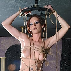 Bound for glory. Serious rope bondage here