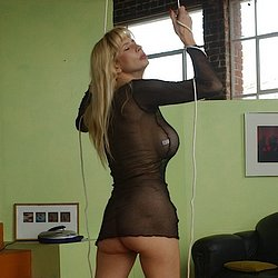 Tara moon 2. Sublime bondage of big-titted blonde