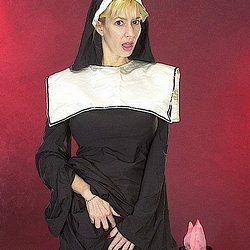 Tara moon 3. She's dressed in a nun's habit, but her intentions are far from saintly!