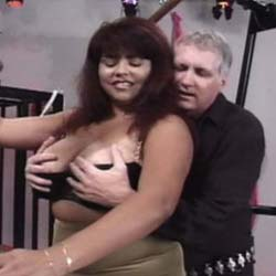 Hurting breasts. Curvy Ethnic mamas get their breasts abused