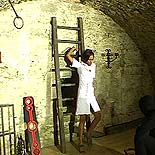 Humiliation of a slave  a appealing ebony sub cannot escape her masters vicious desires. A charming ebony sub cannot escape her masters vicious desires