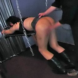 Anguish and torture. German babe Freda cannot escape the bondage torture